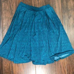 LuLaRoe Madison skirt with flare
